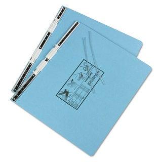 Universal Pressboard Hanging Light Blue Data Binder (Pack of 4)