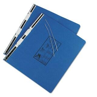 Universal Pressboard Hanging Blue Data Binder (Pack of 4)