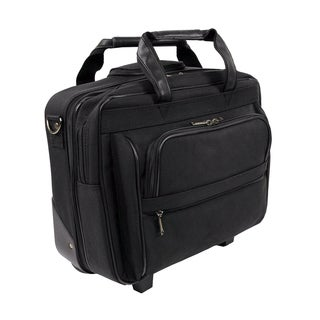 Stebco Black Rolling 15.4-inch Laptop Case