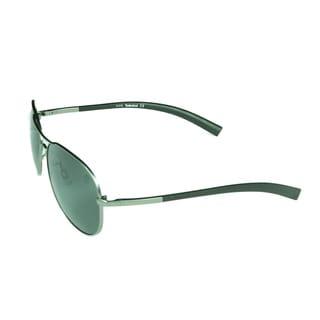 Timberland Men's 'TB9031' Matte Aviator Sunglasses