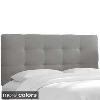 Skyline Furniture Pull Tuft Twin-size Linen Headboard