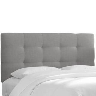 Skyline Furniture Pull Tuft Full-size Linen Headboard