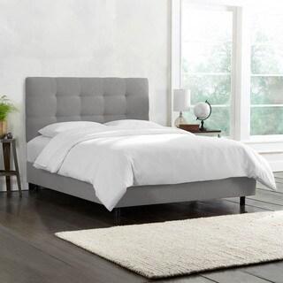Skyline Furniture Pull Tuft Full-size Linen Bed