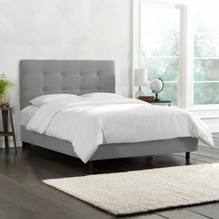 Skyline Furniture Pull Tuft California King-size Linen Bed