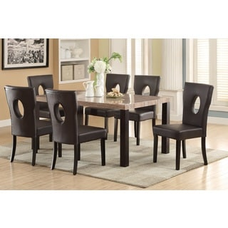 Oval Crest Dining Chairs (Set of 6)