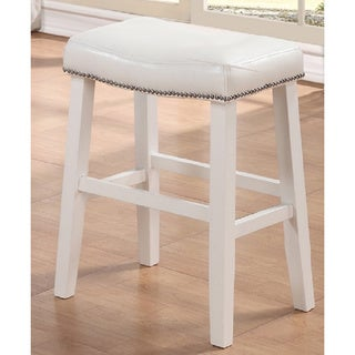 White Ranch Barstools (Set of 2)