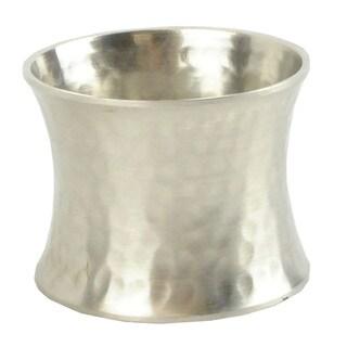 Hammered Sliver Napkin Ring (Set of 4)