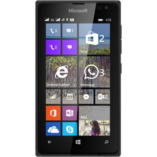 Nokia Lumia 435 8GB 4-inch Unlocked GSM Windows 8.1 Smartphone