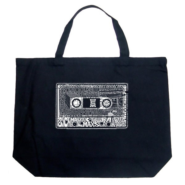 LA Pop Art The 80's Shopping Tote Bag