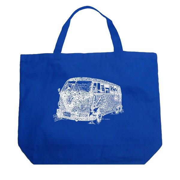 LA Pop Art The 70's Shopping Tote Bag