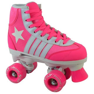 Epic Pink Star Quad Indoor / Outdoor Roller Skates