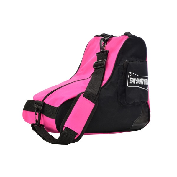 EPIC Pink & Black Premium Quad Roller Derby Speed Skate Bag