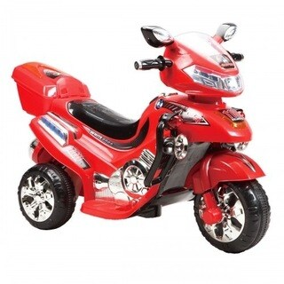 Joy Riders Big Kids Ride-On 3-Wheel Motorcycle