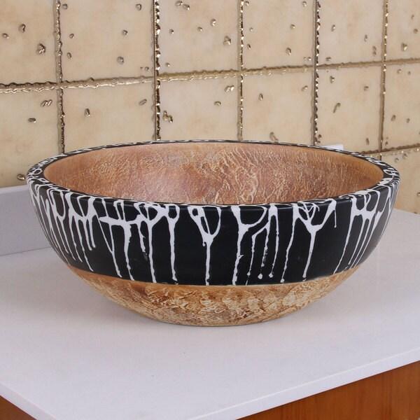 ELIMAX'S 2012 illusione Porcelain Ceramic Bathroom Vessel Sink