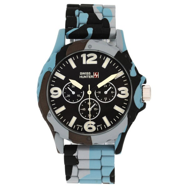 Swiss Hunter Camouflage Sports Watch