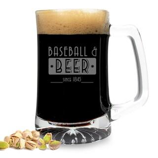 Baseball and Beer Sports Mug