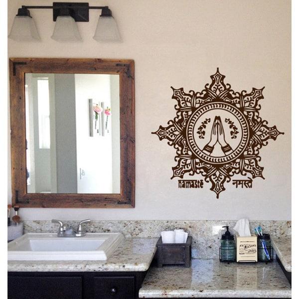 Mandala Namaste Vinyl Wall Art