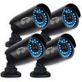 Night Owl Security 4-PK 720p HD Security Bullet Cameras with 100ft. of Night Vision