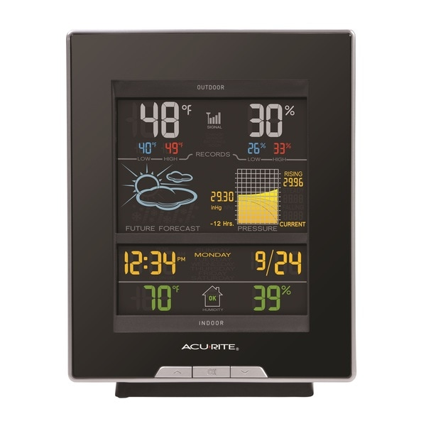 AcuRite Color Weather Station, Dark Theme 15236193