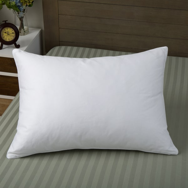 Suprelle Fusion Supima Cotton Down Blend Pillow with Bonus Cover