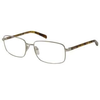 Prada Men's PR51NV Rectangular Reading Glasses