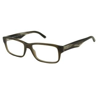 Prada Men's/ Unisex PR16MV Rectangular Reading Glasses