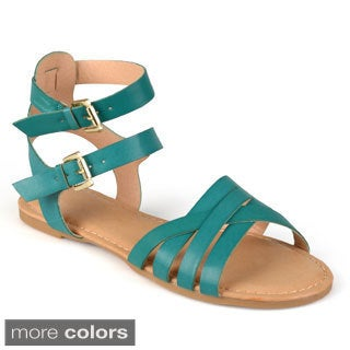 Journee Collection Women's 'Flora' Gladiator Caged Sandals