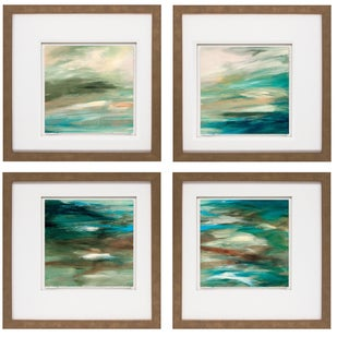 G.A. Hickman- Begin 20 x 20 Set of 4 Framed Art Print