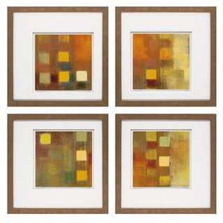 David Belova- Escorial I 20 x 20 Set of 4 Framed Art Print
