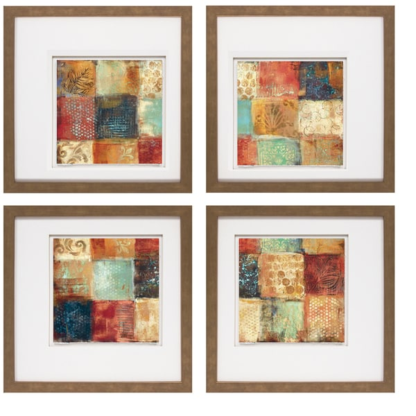 Jodi Reeb-Myers -25 Moments I 20 x 20 Set of 4 Framed Art Print