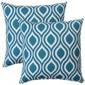 Premiere Home Nicole Aquarius 17-inch Throw Pillow - Set of 2