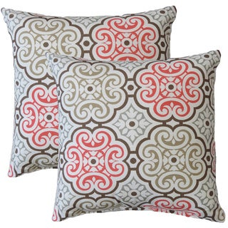 Premiere Home Nyle Medallion 17-inch Throw Pillow - Set of 2