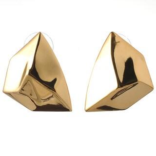 De Buman 18K Yellow Goldplated or 18k Rose Goldplated Earrings