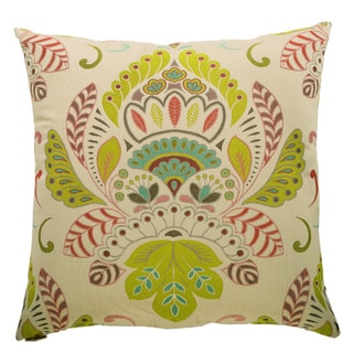Caprina Decorative Feather and Down Filled 24-inch Throw Pillow