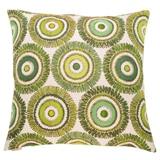 Squiggs Decorative Feather and Down Filled 24-inch Throw Pillow