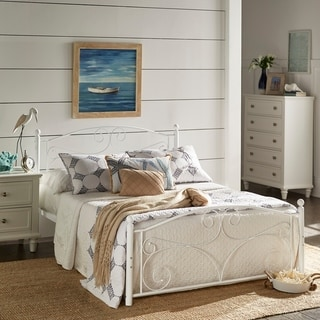 Adrian Metal Platform Bed by iNSPIRE Q Classic