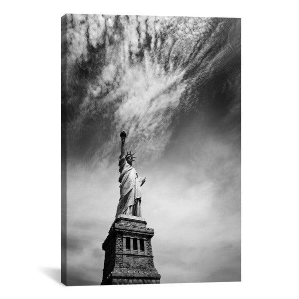iCanvas Nina Papiorek NYC Miss Liberty Canvas Print Wall Art