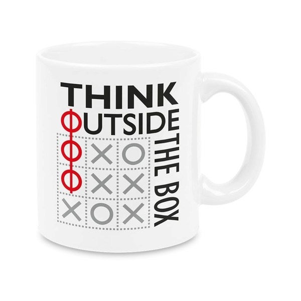 Weachtersbach Think Outside the Box Mugs (Set of 4)