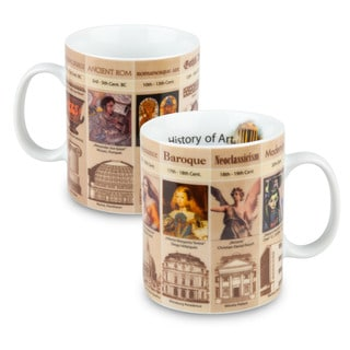 Konitz Mugs of Knowledge History of Art (Set of 2)