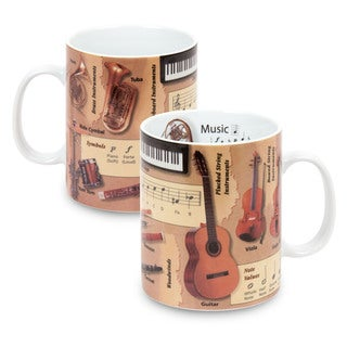 Konitz Mugs of Knowledge History of Music (Set of 2)