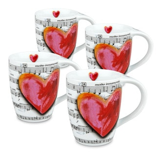 Konitz Love Song Mugs (Set of 4)