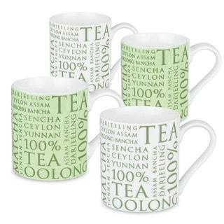 Konitz Assorted Tea Mugs (Set of 4)
