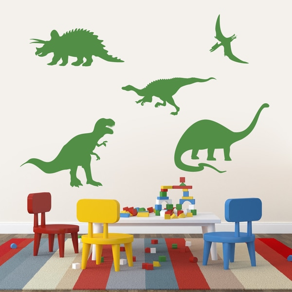 Set of Dinosaurs Large Wall Decals