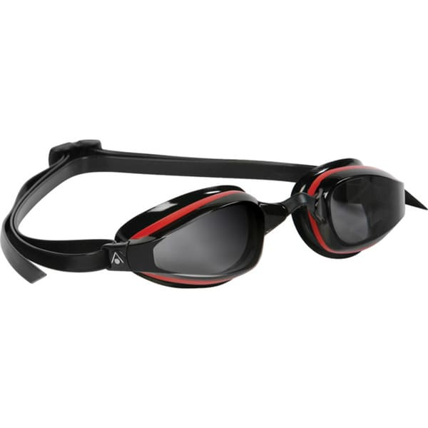 K180 Goggle Smoke Lens Red Black