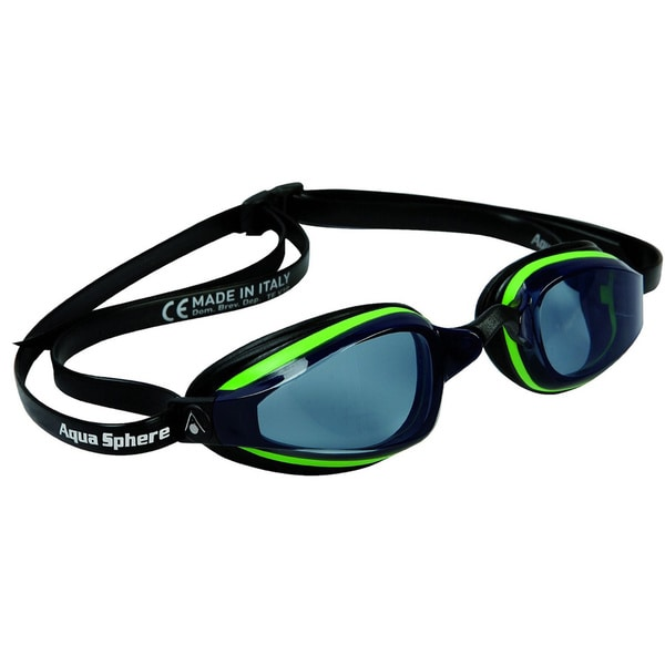K180 Plus Goggle Smoke Lens Green Black