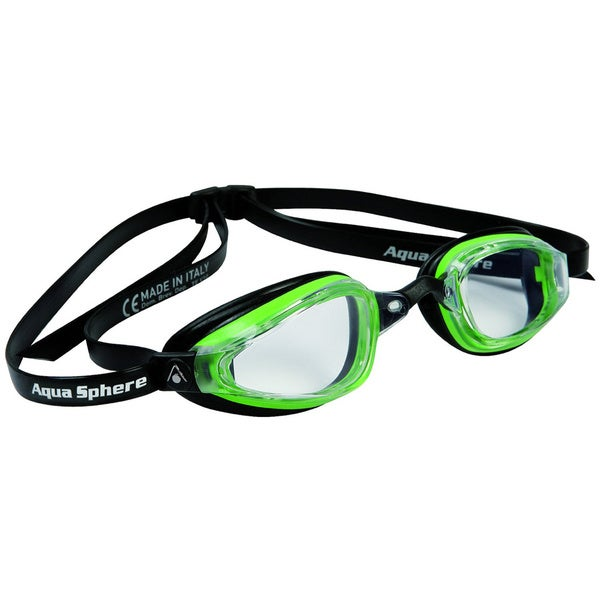 K180 Plus Goggle Clear Lens Green Black