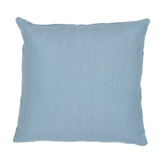 Handmade Blue 20-inch Throw Pillow