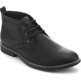 Arider COOPER-03 Men's High-Top Lace Up Chukka Ankle Boots