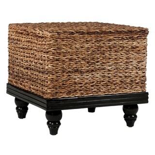 Decorative Salem Natural Tan Square Accent Table