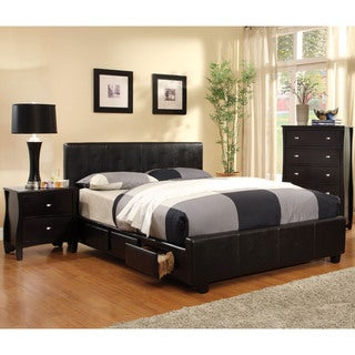 Furniture of America Larington 3-piece Modern Bedroom Set